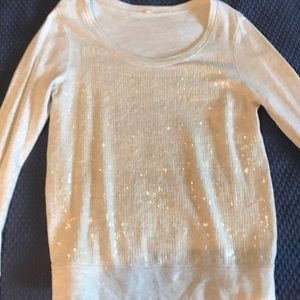 JCrew Sequin Sweatshirt